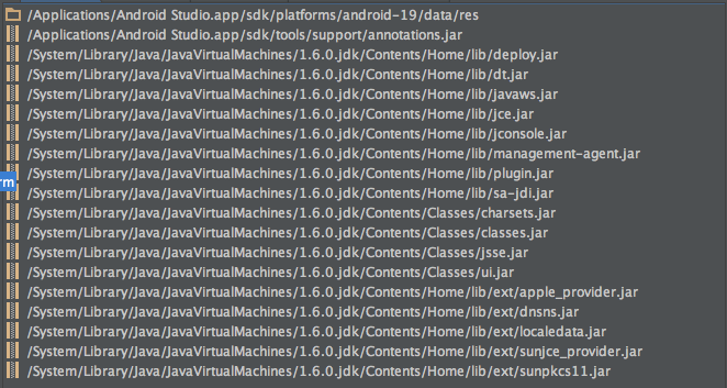 Android Studio 0 6 1 SDK recognition issue when using